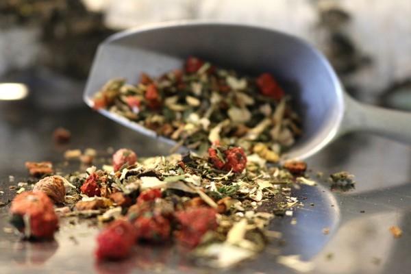 Erdbeer-Minze-Tee, 100g (Kräutertee)