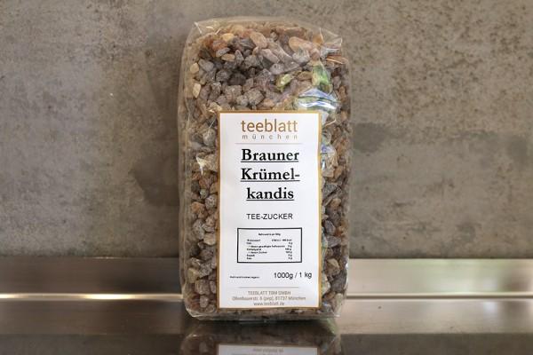 Zucker: Brauner Krümelkandis, 1000g
