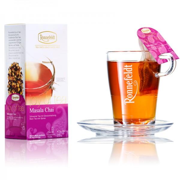 joy of tea: Masala Chai, 15x4,3 g = 64,5g