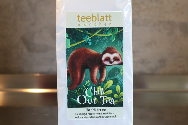 Chill Out Tea, BIO (chilliger BIO Kräutertee mit Hanfblättern)