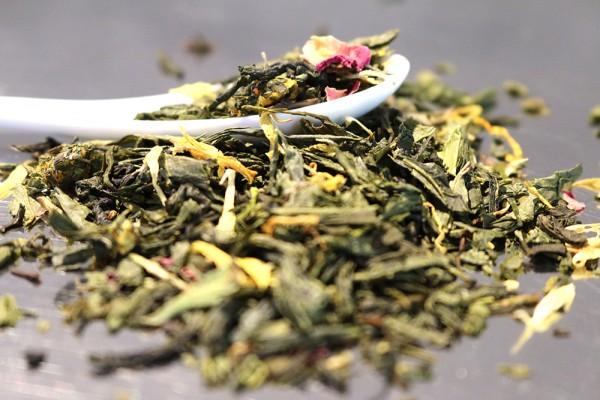 Pfirsichglück (Natürlich aromatisierter Grüner Tee)