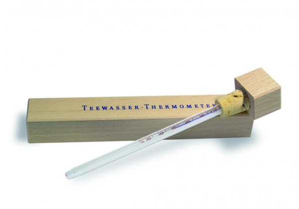Tee Thermometer im Holzschuber