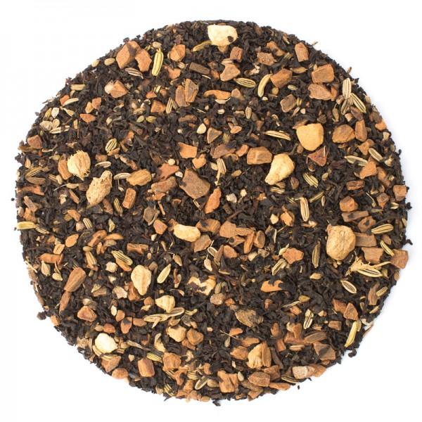 Chai Tee: Masala Chai (Schwarzer Tee mit Gewürzmischung von Ronnefeldt)