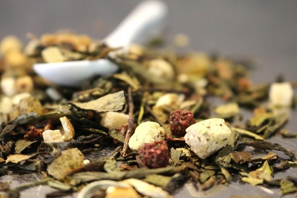 Tempel der Götter (Weißer & Grüner Tee mit Lychee-Pfirsich-Geschmack)