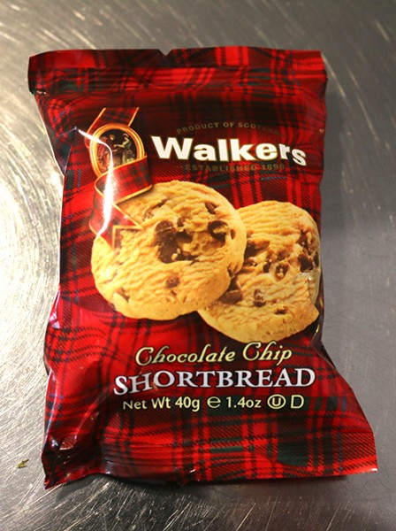 Walkers Choclate Chip Shortbread, 40g