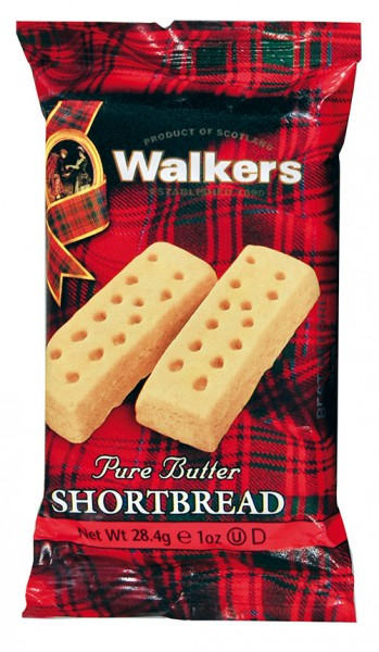 Walkers Pure Butter Shortbread, 40g