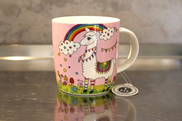 "Becher / Mug ""Paul das Lama"", 0,32l (New Bone China)"
