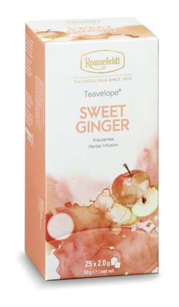 Kräutertee Sweet Ginger, BIO, 25x2,0g = 50g (Teavelope)