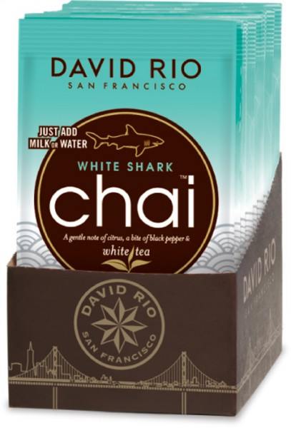 WHITE SHARK chai, TASSENPORTION