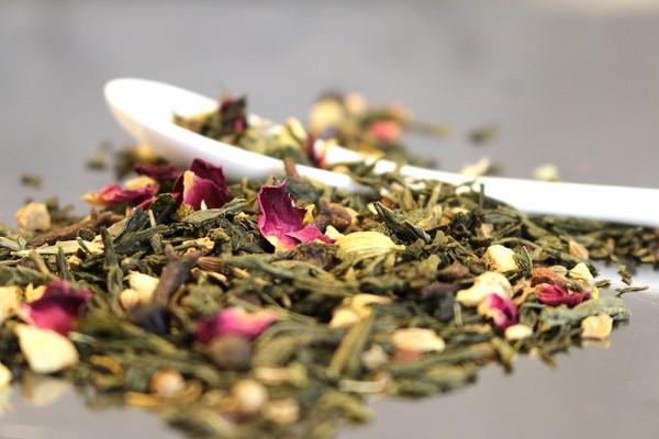 Chai Tee: Morgentau-Chai (Grüner Tee von Ronnefeldt)
