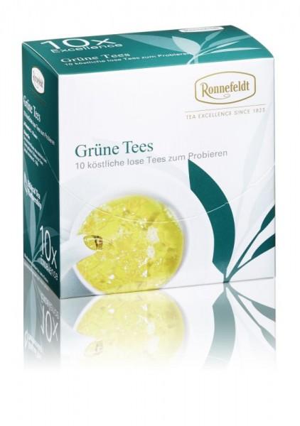Probier Mal: Grüne Tees (10x3,9g zum Probieren)