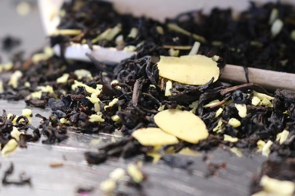 Schneeflöckchen (Schwarzer Tee) (Mandel-Kokos-Geschmack)