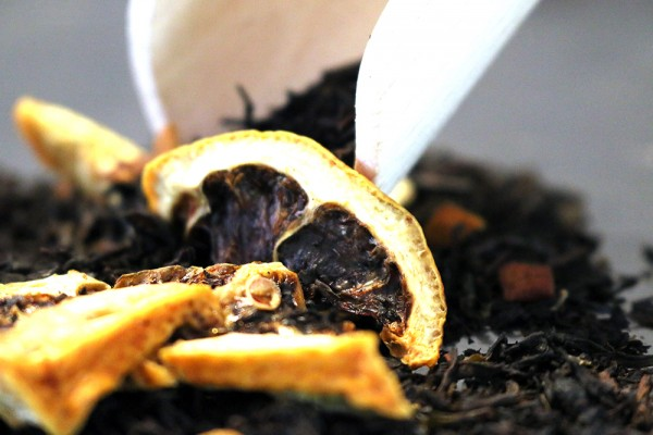Limoncello (spritzig, frische Zitrone - natürlich aromatisierter Schwarzer Tee)