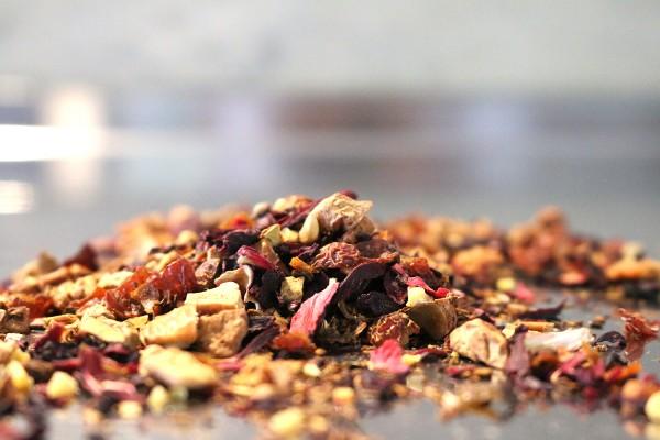 Kaminfeuer (natürlich aromatisierter Früchtetee mit Zimt-Geschmack)