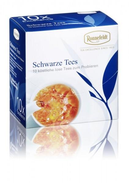 Probier Mal: Schwarze Tees (10x3,9g zum Probieren von Ronnefeldt)