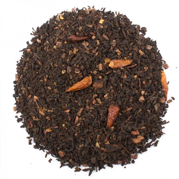 Chai Tee: Red Chili Chai, 100g (Ronnefeldt Tee)