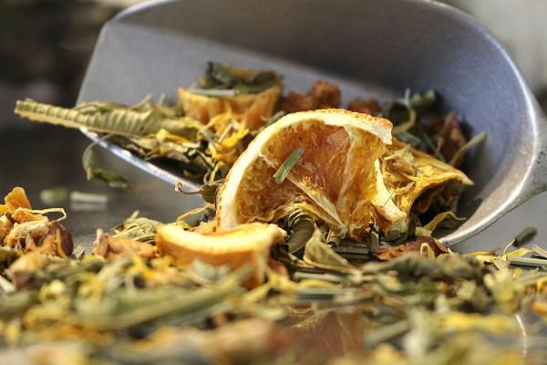 Glücksquelle, 80g (Naturbelassener Kräuter-/Früchtetee mit frischem Zitrus-Geschmack)