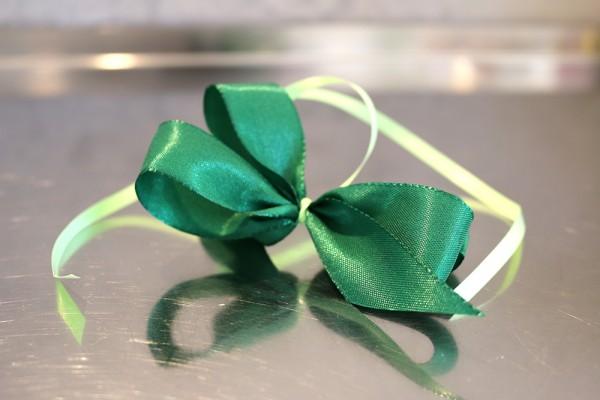Geschenkschleife, grün