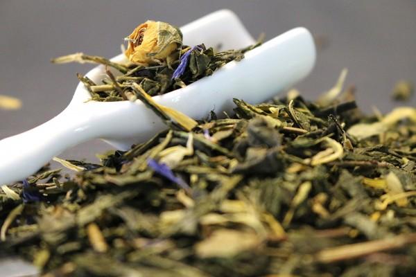 Rose des Orients (Grüner Tee mit Mango-Rose-Geschmack)