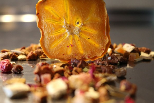 Teeprobe Früchtetee Götterfrucht, 20g (Milder Früchtetee)