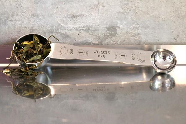 Teemaßlöffel für Kanne und Becher, ca. 19,5 cm